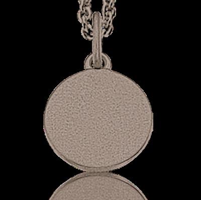 Scrouples Halskæde i Rhodineret Sølv 222542