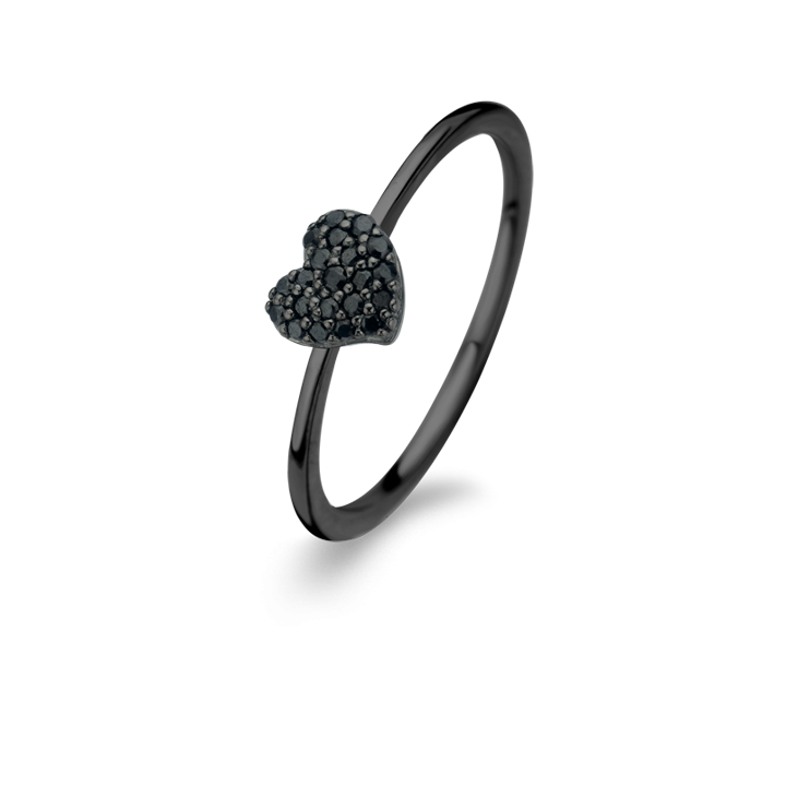 Glowing Heart Rosaforgyldt Sølv Ring fra Spirit Icons