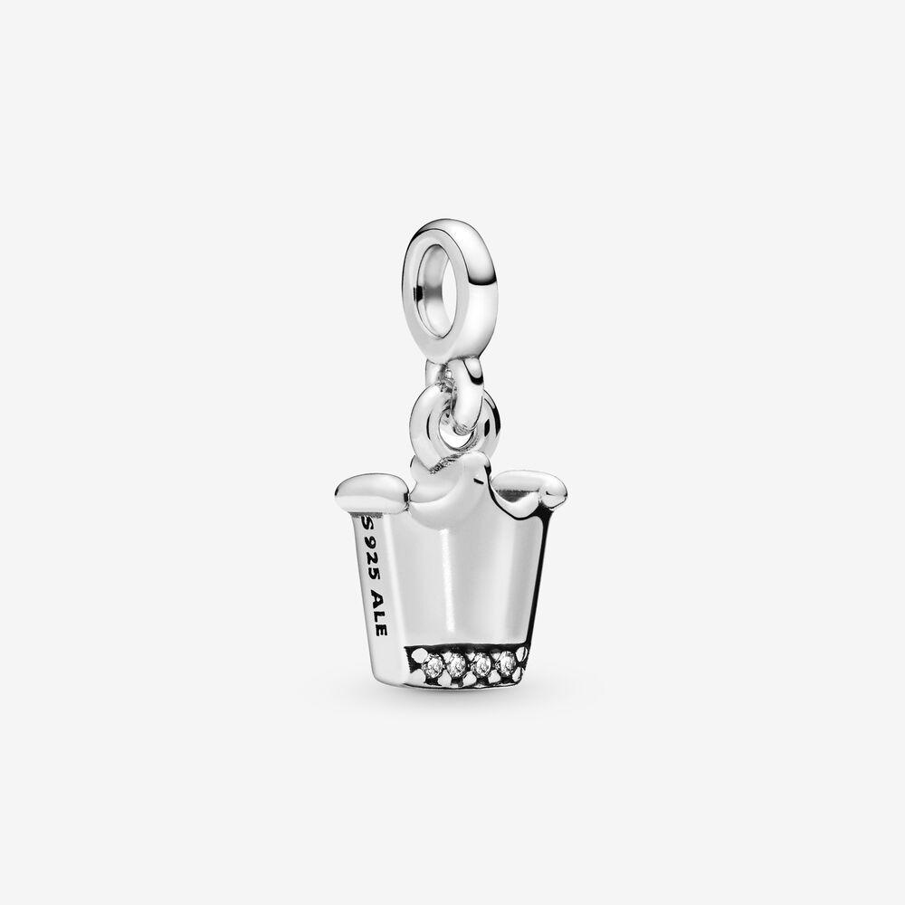 Krone Sterling Sølv Charm fra Pandora 798377CZ
