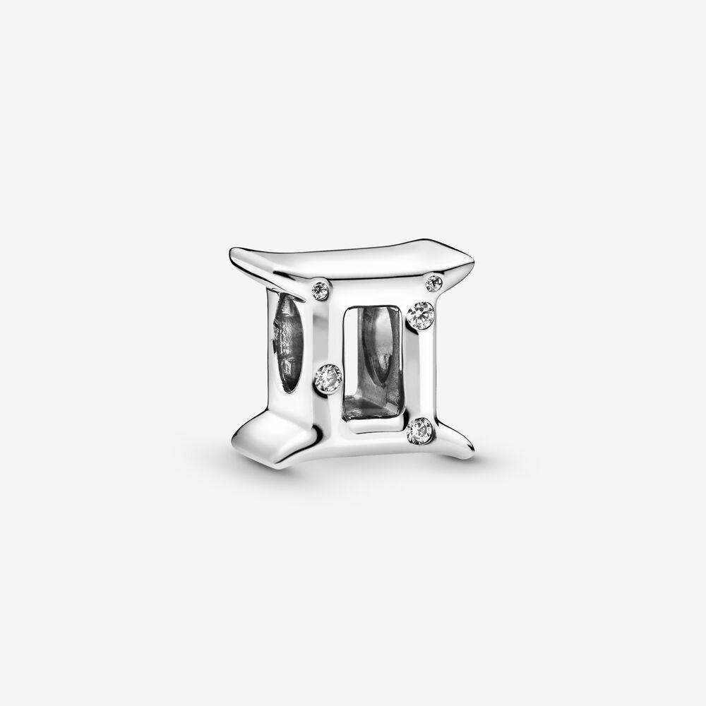 Stjernetegn Tvillingen Sterling Sølv Charm fra Pandora
