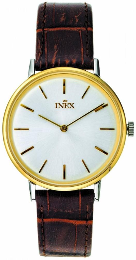 Inex Ur til Herre Mens White And Golden A69502B4I