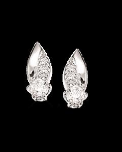 Scrouples Rhodineret Sølv Øreringe 147202
