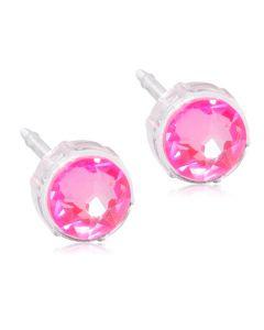 Shiny Rose Medicinsk Plastik Ørestikker fra Blomdahl