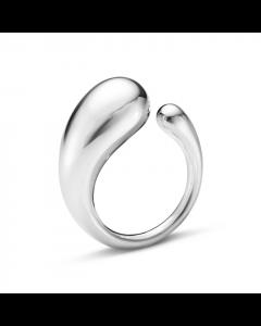 Mercy Str. 54 Sterling Sølv Ring fra Georg Jensen