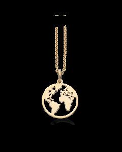 Verden 8 Karat Guld Vedhæng fra Scrouples 211023