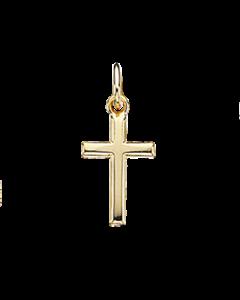 Scrouples Kors Forgyldt Sølv Vedhæng 221212