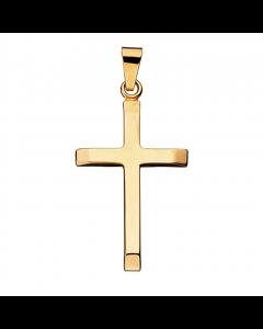 Kors 14 Karat Guld Vedhæng fra Scrouples 26355