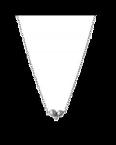 byBiehl Pebbles Sterling Sølv Halskæde 3-3801A-R