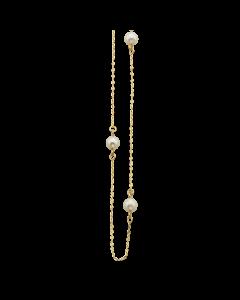 Scrouples 8 Karat Guld Armbånd med Ferskvandsperle