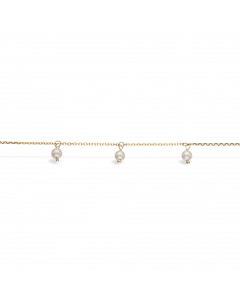 Scrouples Ferskvandsperler 8 Karat Guld Armbånd 33623,18