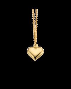 Scrouples Hjerte Halskæde i Forgyldt Sølv 37562,45