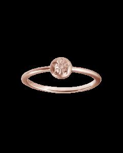 byBiehl Signature Rosaforgyldt Sølv Ring