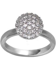 Mini Sparkle Sterling Sølv Ring fra byBiehl 5-503A-R-H