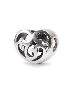 Troldekugler Hvirvlende Hjerter Vedhæng i Sterling Sølv