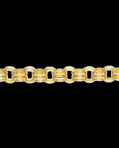 Scrouples Chunky Forgyldt Sølv Armbånd 611262