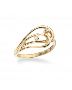 Scrouples Ring i 8 Karat Guld 711543