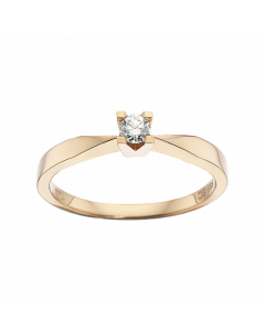 Kleopatra Ring 0,10 ct. i 14 Karat Guld fra Scrouples