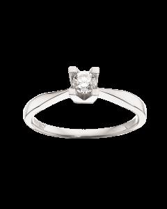 Kleopatra Ring 0,20 ct. i 14 Karat Hvidguld fra Scrouples
