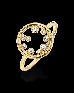 Forgyldt Sølv Ring fra Scrouples 721202