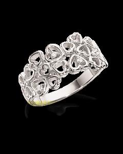 Primavera Rhodineret Sølv Ring fra Scrouples 724002
