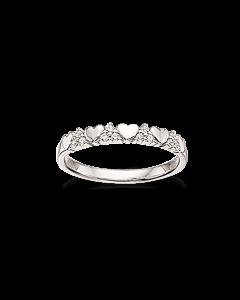 Rhodineret Sølv Ring fra Scrouples 725082