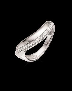 Rhodineret Sølv Ring fra Scrouples 725122