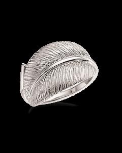 Scrouples Primavera Blad Rhodineret Sølv Ring 725222