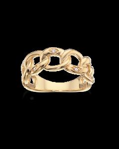Scrouples Bismark Sterling Sølv Ring 726152