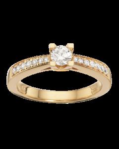 Kleopatra Queen Ring 0,33 ct. i 14 Karat Guld fra Scrouples