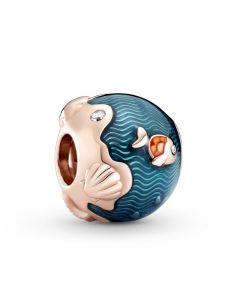 Pandora Fish & Ocean Charm i Forgyldt Sølv 789004C01