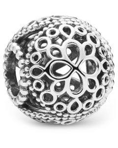 Blomst Sterling Sølv Charm fra Pandora 797853