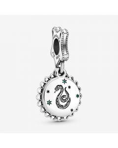 Pandora Harry Potter Slytherin Charm i Sterling Sølv