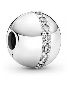 Pandora Clip Sterling Sølv Charm 799403C01