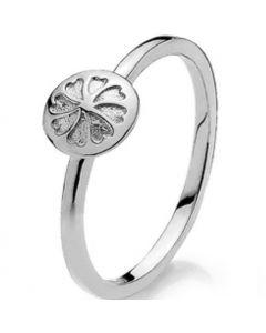Izabel Camille White Signature Sterling Sølv Ring