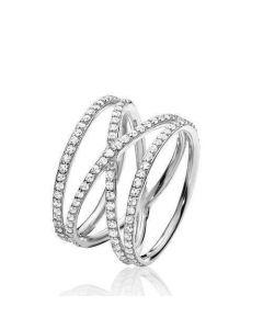 Promise Sterling Sølv Ring fra Izabel Camille A4085SWS