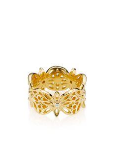 Blossom Forgyldt Sølv Ring fra Izabel Camille A4135GS