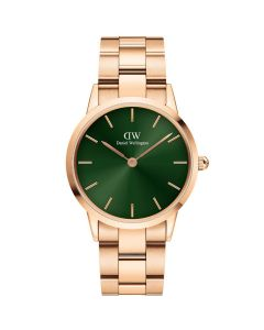 Daniel Wellington ADW00100419 - Fint dameur 36 MM Iconic Emerald Rose