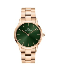 Fint 32 MM Iconic Emerald Rosa dameur fra Daniel Wellington - ADW00100420