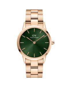 28 MM Iconic Emerald Rose dameur fra Daniel Wellington - ADW00100421