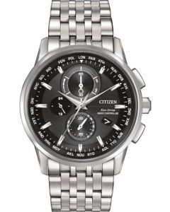 AT8110-61E fra Citizen - Pænt Herreur Eco-Drive Radio Controlled
