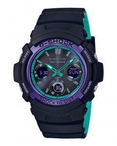 Herreur fra Casio - AWG-M100SBL-1AER G-Shock