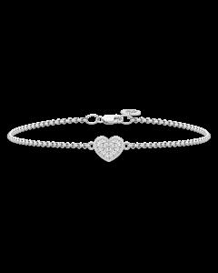 Pure Heart Sterling Sølv Armbånd fra Julie Sandlau