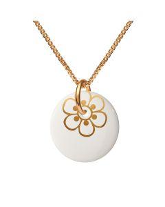 Flora Gold Halskæde fra Scherning FL55-1012G