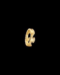 Fusion Ende 18 Karat Guld Ring fra Georg Jensen med Brillanter 0,15 - 0,21 Carat TW/VS