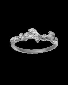 byBiehl Jungle Ivy Sparkle Sterling Sølv Ring 5-3102A-R