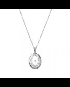 Nordahl Andersen Medaljon Sterling Sølv Halskæde
