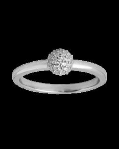 Sparkle Sterling Sølv Ring fra byBiehl 5-504A-R