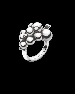 Georg Jensen Lille Moonlight Grapes Ring i Sterling Sølv
