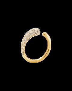 Mini Mercy 18 Karat Guld Ring fra Georg Jensen med Brillanter 0,53 Carat TW/VS