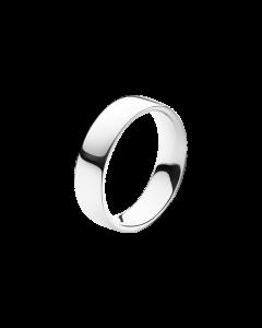 Magic Bred 18 Karat Hvidguld Ring fra Georg Jensen